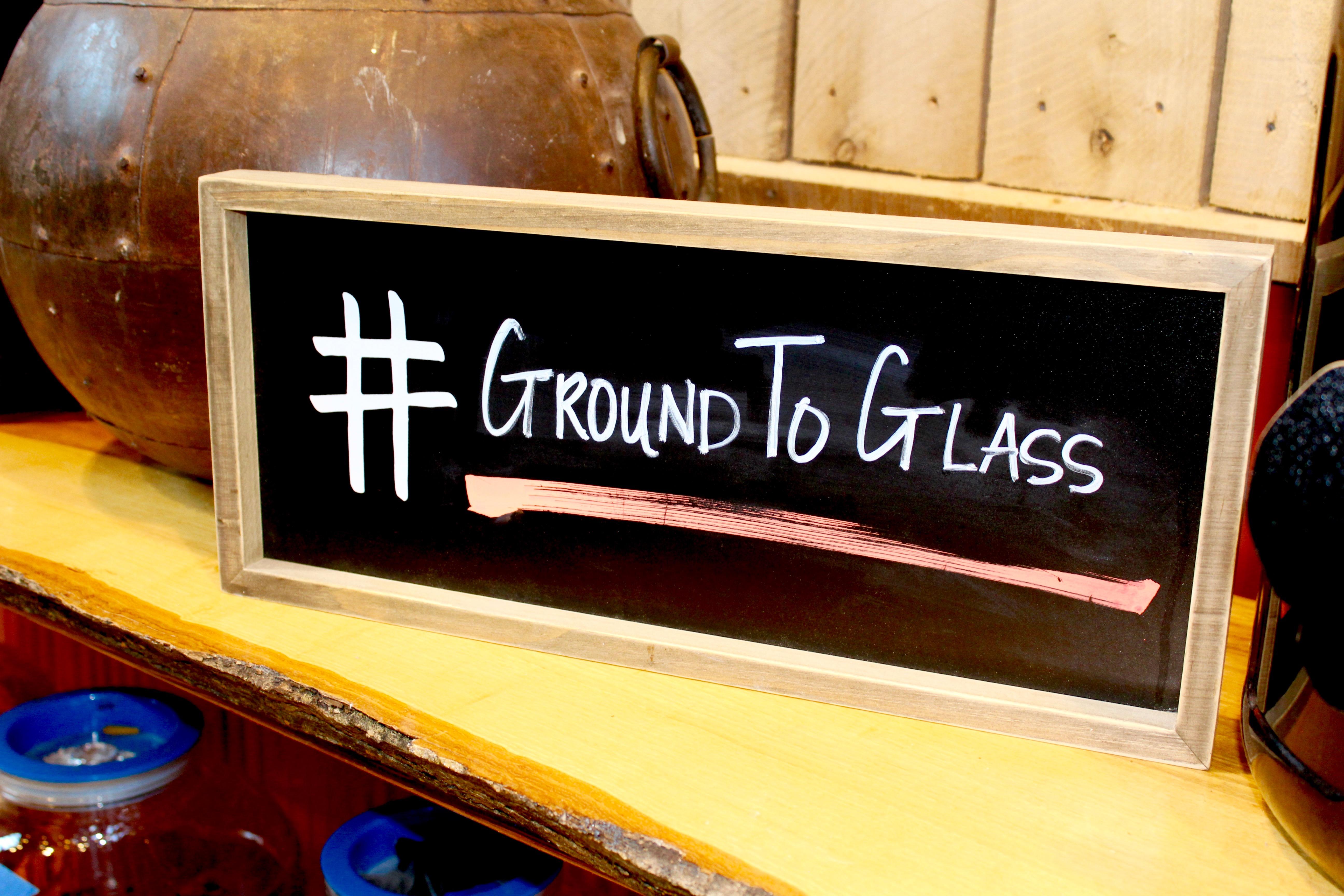 Ground To Glass