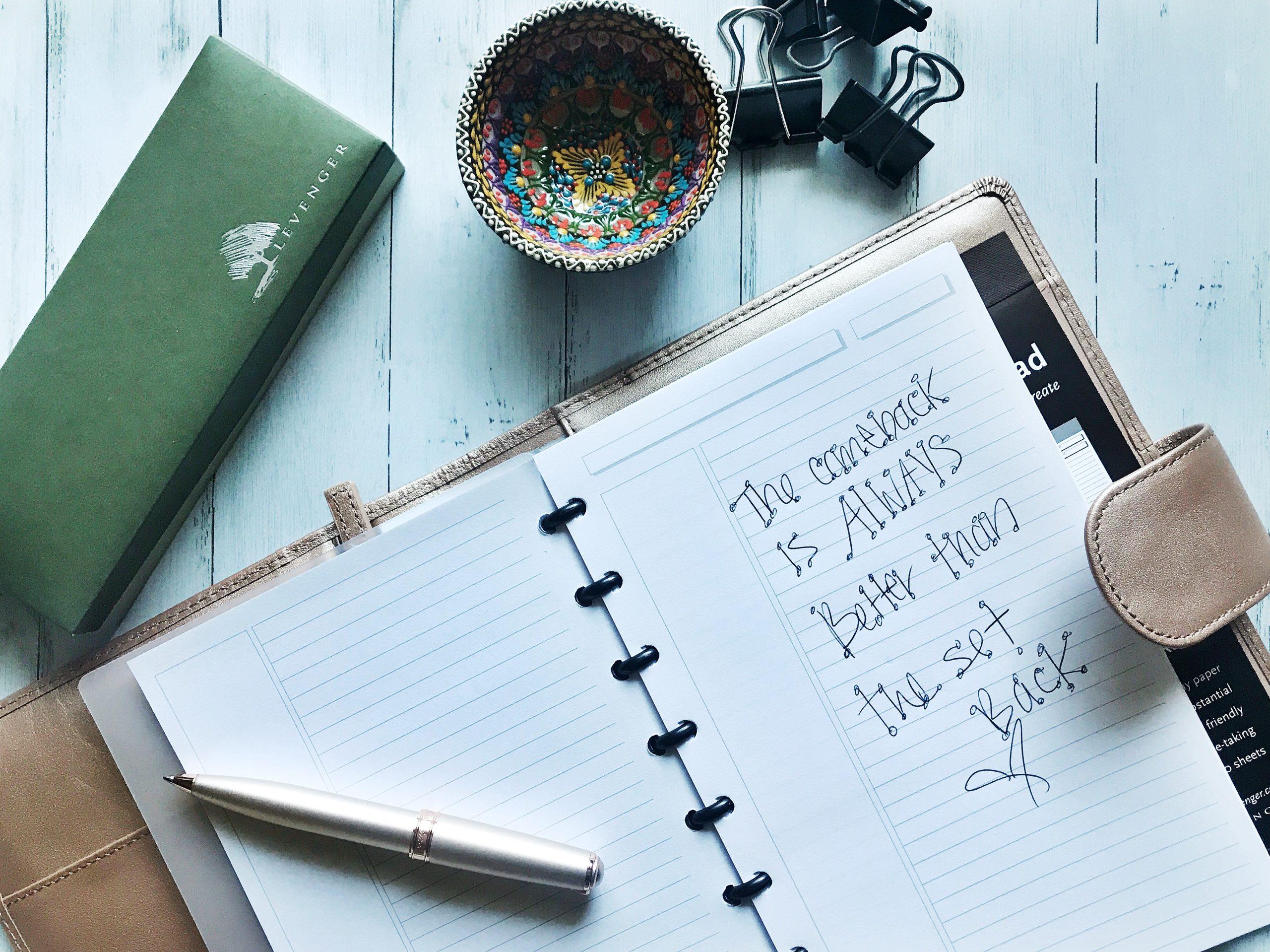 Levenger, Notebook