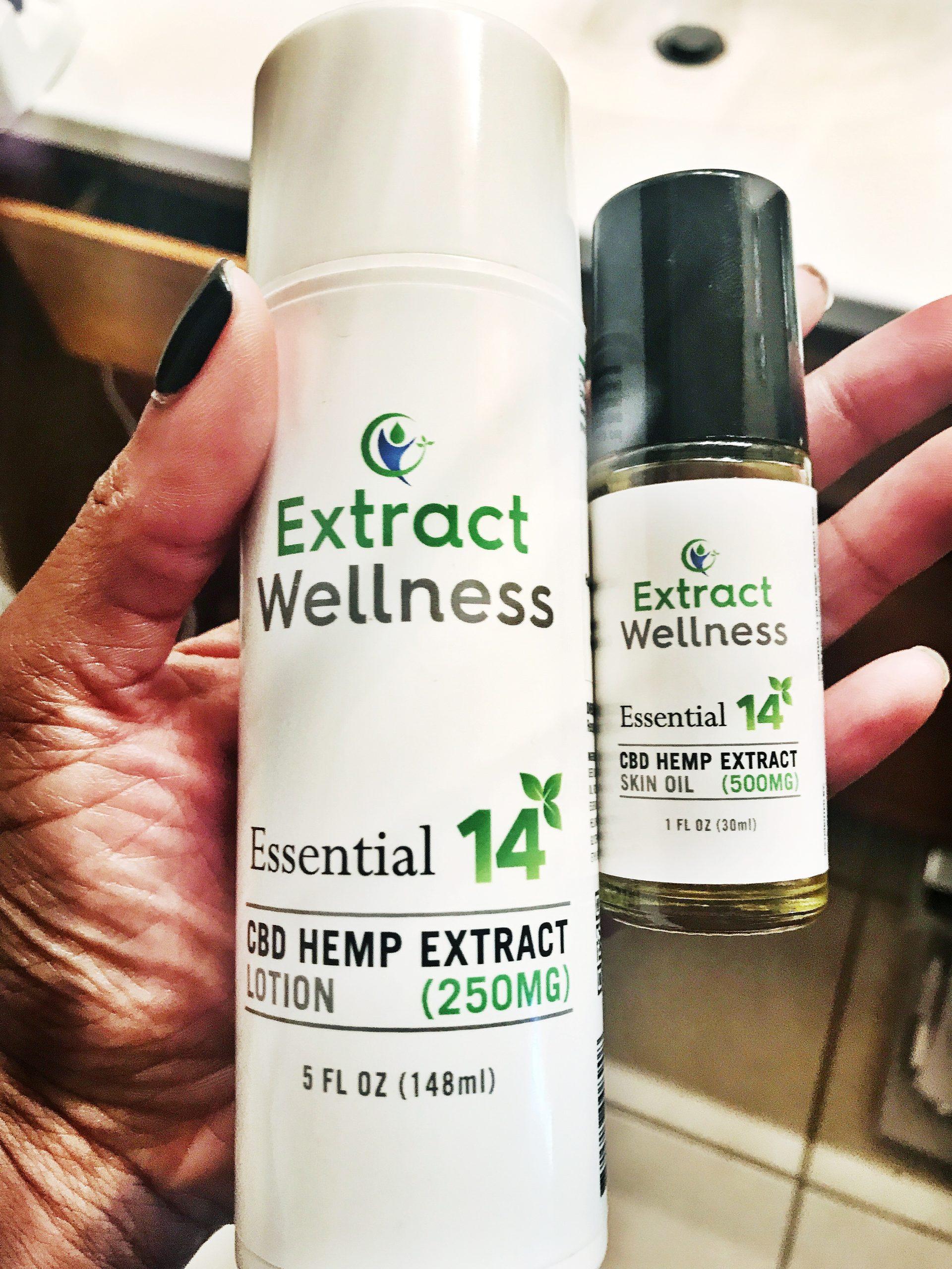 CBD Moisturizer, CBD Skin Oil, Extract Wellness Skincare