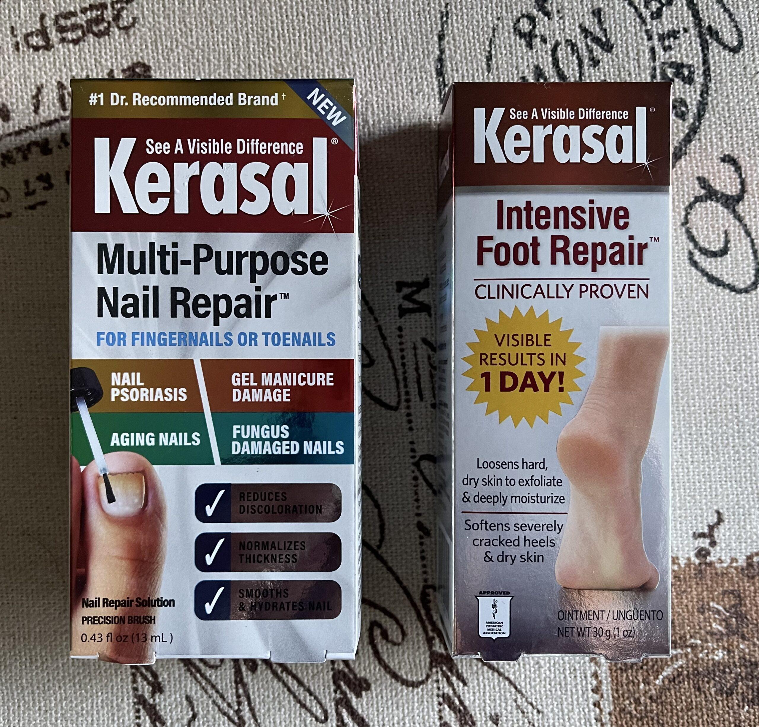 Kerasal, Nails, Nails repair, foot repair