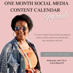 How to make a social media content calendar