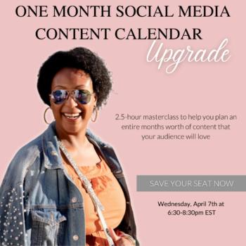 How to make a social media content calendar