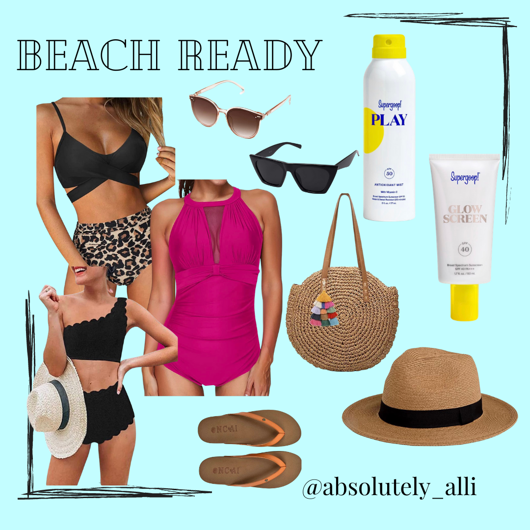 Vacation Style, Affordable swimsuits, beach essentials, Summer Style Inspo